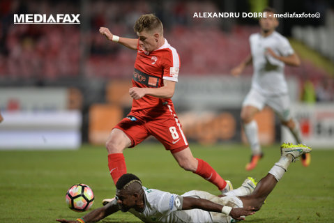 """Un Lazăr, un Lazar şi o """"revoluţie"""" reuşită. Dinamo - Pandurii 4-0, în meciul în care Andone şi-a lăsat patru titulari pe bancă, dar """"câinii"""" s-au distrat cu un adversar copleşit de probleme"""