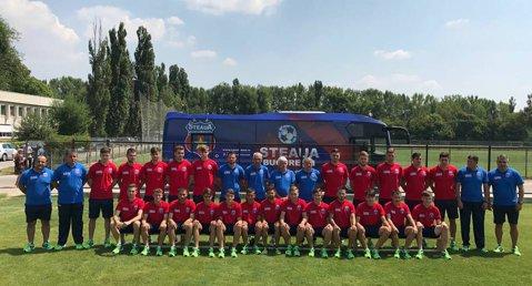 BREAKING NEWS | CSA Steaua a anunţat lotul de jucători. Cei mai mulţi jucători au sub 20 de ani. Fiul lui Daniel Prodan este şi el pe foaie. FOTO | Imagini spectaculoase cu autocarul echipei