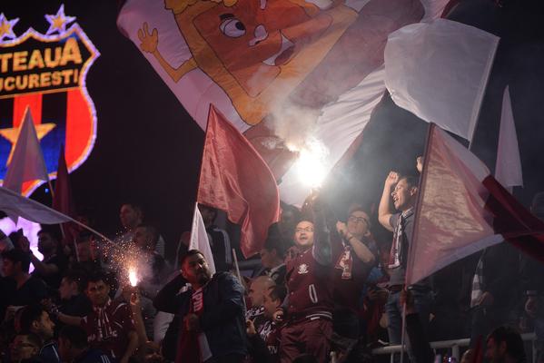 """Academia Rapid - Steaua 1-1. Predescu şi Daniel Niculae asigură câte un punct pentru echipele lor! """"Decarul"""" stelist, eliminat. Bratu a fost şi el trimis la cabine! Atmosferă incendiară pe Giuleşti"""