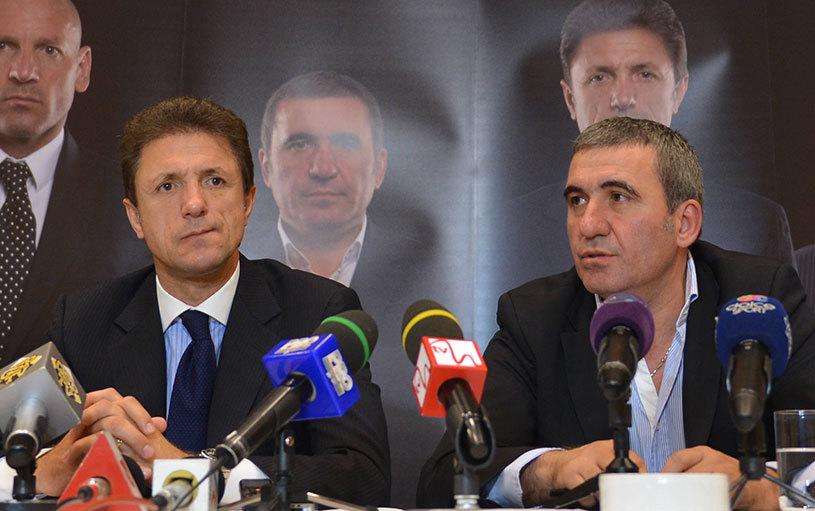 Surpriză: Gică Hagi şi Gică Popescu, fotografiaţi la negocierile pentru preluarea unui club din străinătate! Unde ar putea conlucra liderii Generaţiei de Aur
