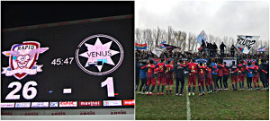 Liga 4 | Steaua şi Dinamo-Badea - pas de defilare, Academia marchează un gol la fiecare 208 secunde. Ultima etapă a turului stabileşte dacă AFC Rapid, ajunsă la a patra victorie consecutivă, detronează Dinamo de pe locul de play-off. Rezultate + clasament