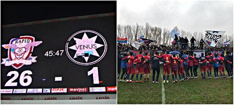 Liga 4   Steaua şi Dinamo-Badea - pas de defilare, Academia marchează un gol la fiecare 208 secunde. Ultima etapă a turului stabileşte dacă AFC Rapid, ajunsă la a patra victorie consecutivă, detronează Dinamo de pe locul de play-off. Rezultate + clasament