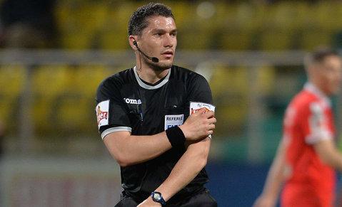 Istvan Kovacs, delegat la un meci din Europa League