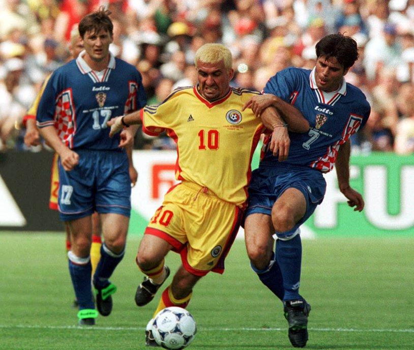 """""""Regele"""" a rememorat o perioadă de glorie a echipei naţionale: """"A fost fantastic să eliminăm Argentina, i-am făcut fericiţi pe români"""". Hagi visează la măreţie: """"Cred că putem să fim campioni mondiali, o să cred asta până o să mor"""""""