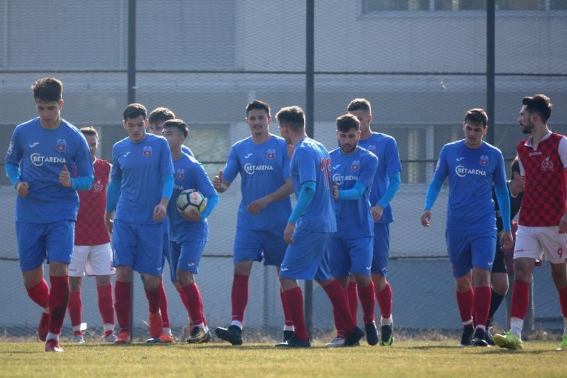 Steaua joacă un nou amical în cantonamentul de la Cheile Grădiştei! Elevii lui Lăcătuş dau piept cu Cetate Râşnov de Valentine's Day