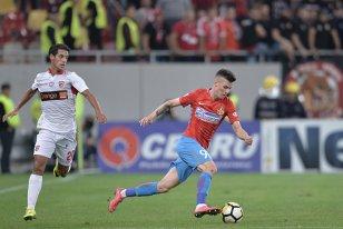 ANALIZĂ | De ce blufează FCSB atunci când pretinde că meciul cu Dinamo este unul banal. Cele două mari din Bucureşti au luat împreună mai puţine puncte decât CFR singură cu adversarele de play-off. Miriuţă, ciuca bătăilor în derby-uri | CIFRE