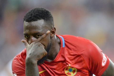 Gnohere se desparte de FCSB! Gigi Becali şi-a dat acordul pentru transfer. Câţi bani va încasa patronul trupei roş-albastre