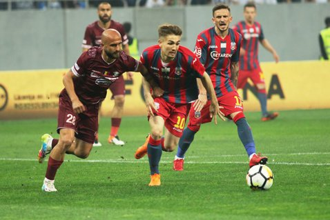 Comprest - Steaua 1-1 şi Academia Rapid - Progresul Spartac II 7-0. Giuleştenii s-au distanţat la şapte puncte de marea rivală