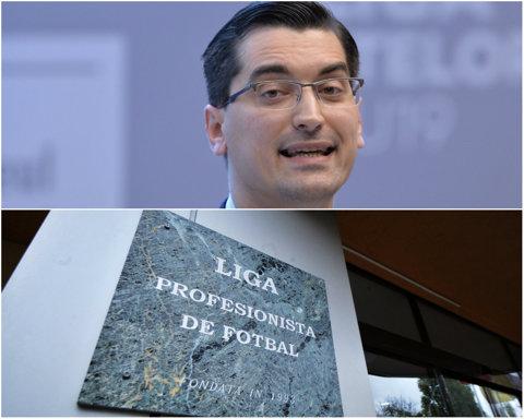 Război! La 6 zile după ce a fost reales preşedinte al FRF, Burleanu anunţă începerea luptei cu Liga Profesionistă. Ţinta: drepturile TV. Ce reformă promite şeful FRF în Liga 1