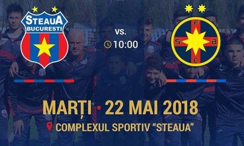 Steaua vs. FCSB s-a jucat în Ghencea, în faţa a 100 de spectatori! Cum s-a terminat meciul