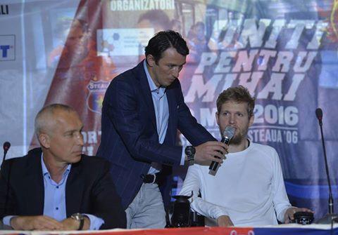 """Emoţionant! Mesajul transmis de Neşu în ziua în care tot fotbalul românesc s-a unit pentru el, la Oradea: """"Am stat azi-noapte şi m-am gândit ce o să zic când o să vină momentul ăsta"""""""