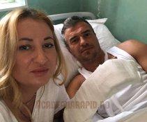 FOTO | De ce nu a jucat Pancu în finala Cupei cu Steaua! Simbolul Rapidului a ajuns la spital. Nu va mai juca nici în barajul de promovare
