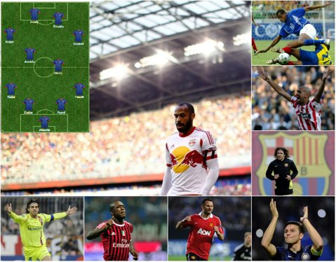 """Zanetti, Puyol sau Henry: Pe cine ai mai fi vrut să vezi pe teren? Primul """"11"""" al legendelor care s-au retras din fotbal în 2014"""