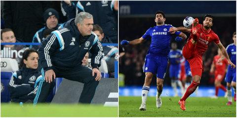 """""""Cei care spun aşa ceva au probleme cu capul."""" Reacţiile lui Mourinho după ce un analist Sky a criticat modul în care Chelsea a câştigat semifinala Cupei Ligii cu Liverpool"""