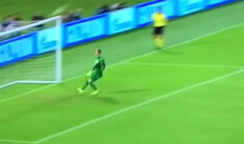 VIDEO | Gol incredibil primit de Barcelona în meciul cu AS Roma. Florenzi l-a lobat pe Ter Stegen de la peste 40 de metri