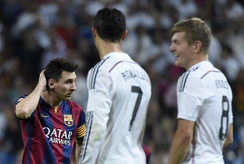 Barcelona, taxată de Real în cel mai greu moment din ultimii ani! Incredibil: ce a apărut pe Santiago Bernabeu la 24 de ore după ce catalanii au fost umiliţi de PSG