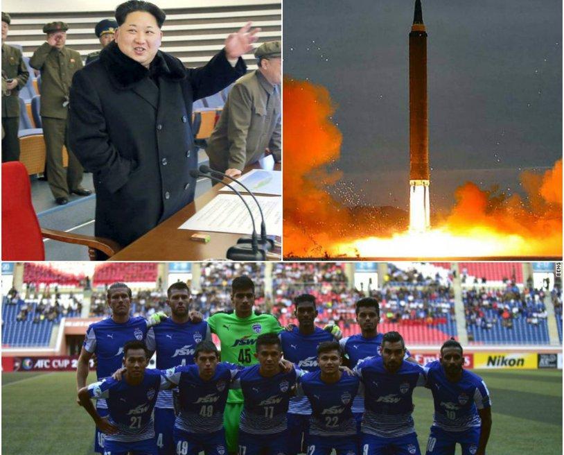 """Coreea de Nord, locul în care fotbalul se joacă sub traiectoria rachetelor! Un australian povesteşte coşmarul prin care a trecut: """"Am spus să ieşim naibii de aici"""""""