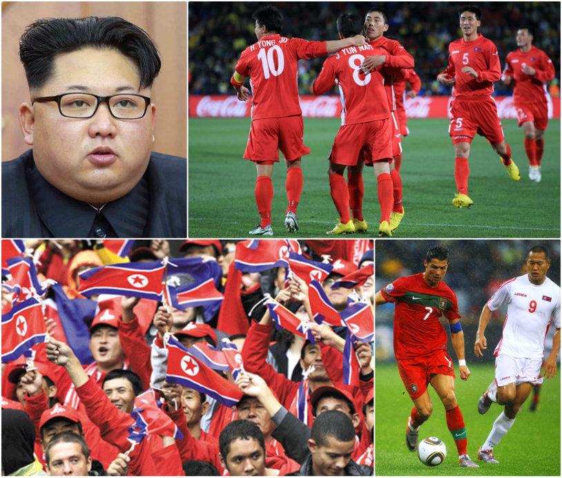 COREEA DE NORD | Fotbalul jucat între seceră şi ciocan. Cum i-au trimis Kaka şi Ronaldo pe jucătorii naţionalei în mină, în timp ce Blatter a muşamalizat tot | VIDEO