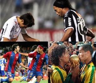 """Gândurile lumii fotbalului la retragerea """"zeului"""": milioane de like-uri strânse de mesajele starurilor pentru marele Ronaldinho. """"Plecăciunea"""" lui Messi şi ce au transmis Neymar sau Coutinho"""