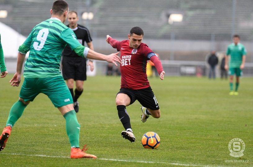 Sparta Praga s-a distrat cu echipa lui Lavezzi şi Mascherano