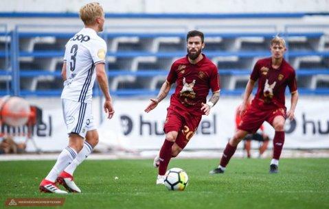 Gabi Enache a debutat la Rubin Kazan, dar nu a semnat încă. Anunţul antrenorului