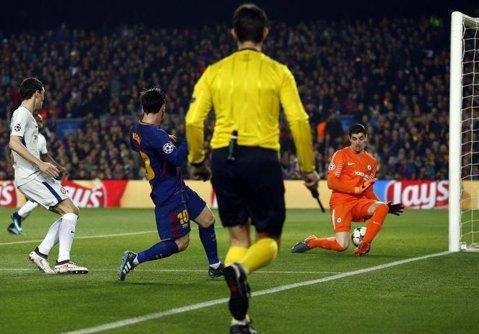 """Cea mai tare declaraţie după ce Messi i-a dat două goluri printre picioare şi Barcelona s-a impus cu 3-0. """"Dincolo de asta, ne-am apărat bine"""""""