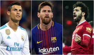 """Sclipirile lui Salah """"aruncă în aer"""" lupta pentru Balonul de Aur! Casele de pariuri s-au """"repliat"""" după show-ul egipteanului: cum arată acum cursa pentru cel mai râvnit trofeu individual. Veste proastă pentru Messi"""