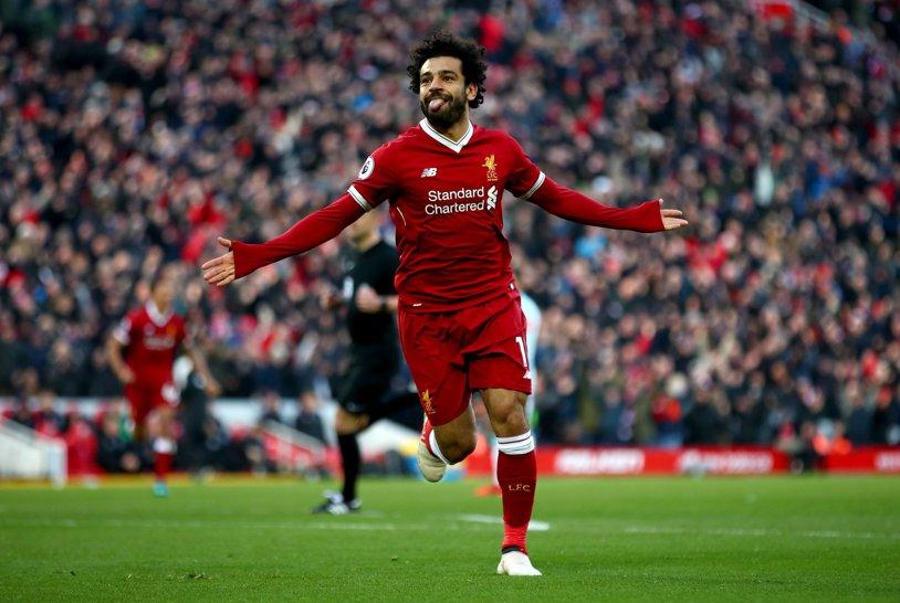 """A scris istorie într-un singur sezon! """"Faraonul"""" Salah a doborât un record incredibil şi i-a depăşit pe Suarez, Shearer şi Ronaldo"""