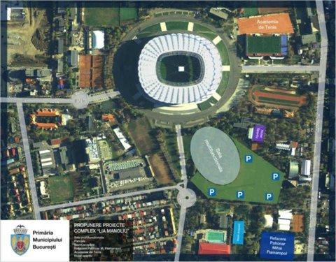 Sorin Oprescu promite arene sportive de 91 de milioane de euro în următorii doi ani. Sala Polivalentă de 12.000 de locuri şi Patinoarul Olimpic de 3.100 de locuri sunt primele pe listă