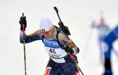 BIATLON   Eva Tofalvi a terminat a zecea din coadă în proba de urmărire la Cupa Mondială. Domraceva, din Belarus, a câştigat detaşat