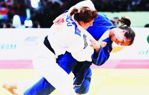 Corina Căprioriu, medalie de bronz la Grand Prix la judo de la Samsun