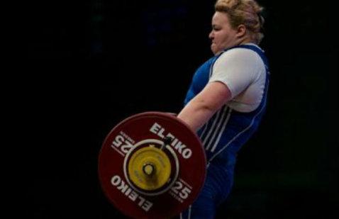 Dublă medalie de bronz la Europene: Andreea Aanei a cucerit locul 3 la smuls şi la total, la +75 kg