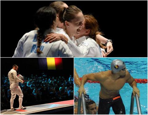 COSR a premiat medaliaţii şi sportivii clasaţi pe locurile 4-6 la Jocurile Europene de la Baku