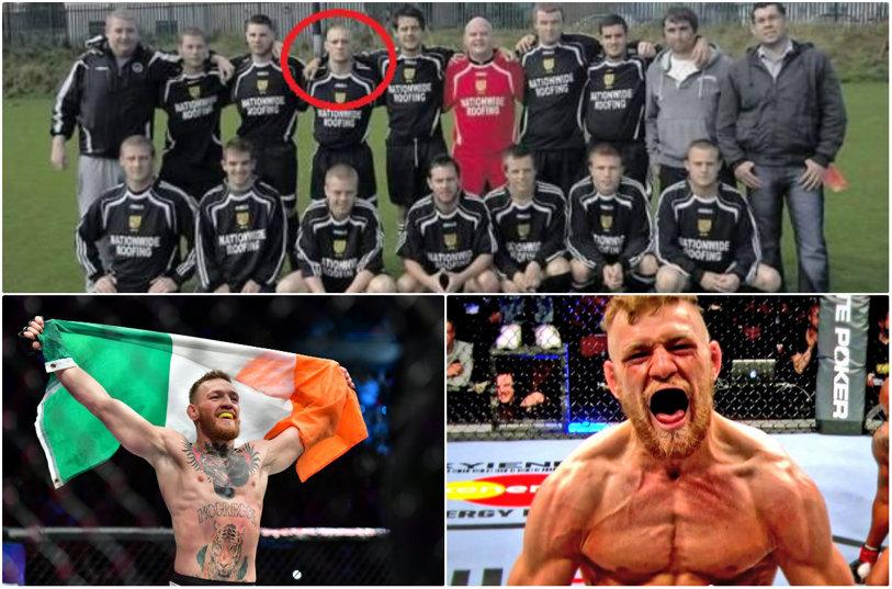 """L-am fi putut vedea în Premier League?! McGregor va boxa pe zeci de milioane de dolari în """"meciul secolului"""" cu Mayweather, dar puţini ştiu că irlandezul a jucat fotbal: """"Era golgheterul echipei în fiecare an"""""""