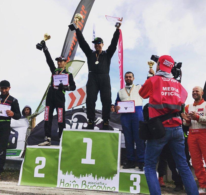 Călin Ciortan a câştigat etapa montană de drift şi e noul lider al campionatului