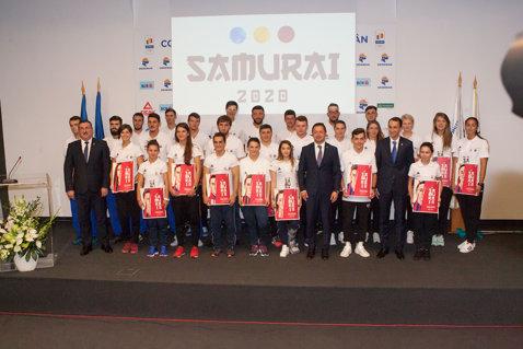 """Cei mai buni sportivi ai României, cu şanse la medalii la Jocurile Olimpice din 2020, au devenit de azi SAMURAI! Până la ce sumă poate primi fiecare Samurai pe lună şi condiţiile de intrare în acest club """"exclusivist"""""""