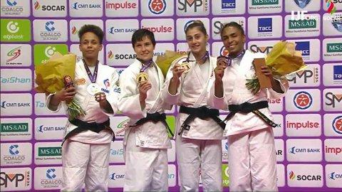 Larisa Florian, medalie de bronz la World Judo Masters, turneul elitelor de la Sankt Petersburg