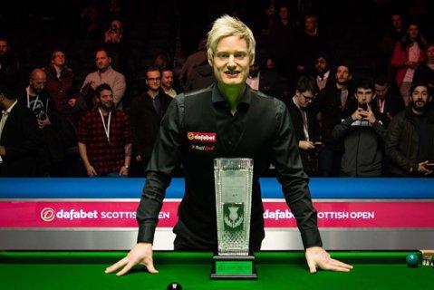 """""""Tunetul"""" din snooker s-a întors! Neil Robertson a cucerit ultimul turneu al anului după ce a revenit de la 4-8! Dramatism total şi bilă de meci ratată de adversar: """"Am fost la câţiva milimetri de înfrângere"""""""
