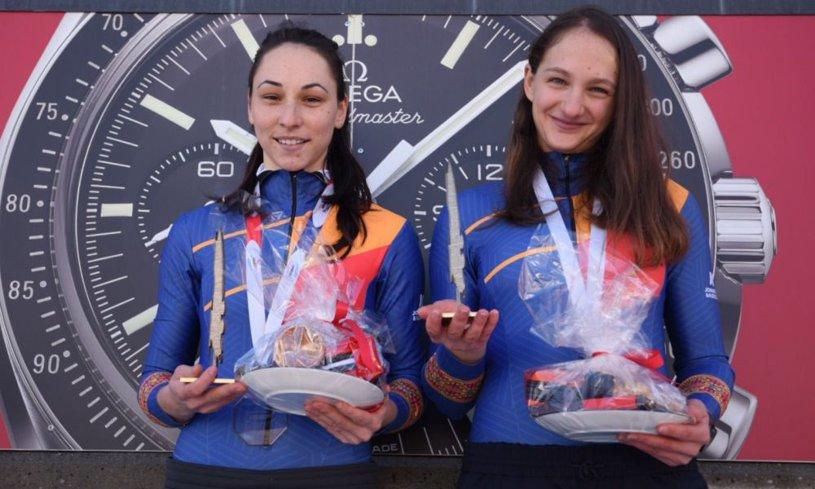Fantastic! Andreea Grecu şi Florentina Iuşco - aur mondial de tineret la bob feminin. Avanpremieră pentru JO de iarnă: Andreea Grecu şi Maria Constantin au prins lotul pentru PyeongChang