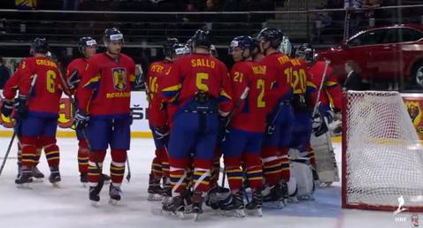 România a debutat cu o înfrângere la Campionatul Mondial de hochei pe gheaţă, Divizia I, Grupa B