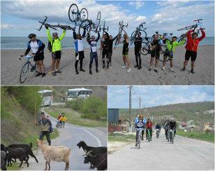 MAREA PEDALARE | 300 de km pe bicicletă în două zile, aventura care nu se uită niciodată. Prin ploaie şi vânt, cu crampe musculare sau pe dealuri inaccesibile, participanţii la evenimentul ProSport şi-au depăşit limitele FOTO şi VIDEO din Vama Veche