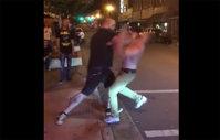 """Imaginea articolului VIDEO: Bătaie INCREDIBILĂ în plină stradă! Ce păţeşte un """"şmecher"""" care se ia de un luptător MMA"""