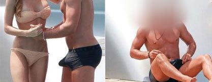 FOTO Mario Gotze s-a făcut de râs în Ibiza
