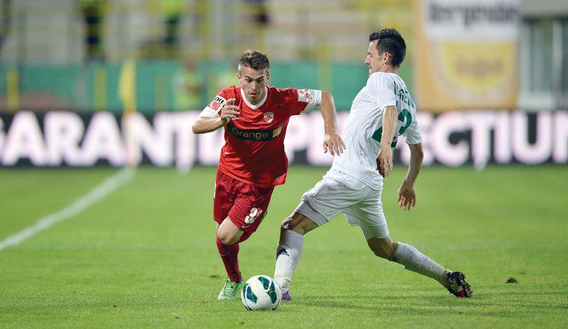 L-au pierdut pe Roti, ţin de Roman! Ultimul puşti promovat de Dinamo are contract până în iunie, iar Oţelul îl vrea