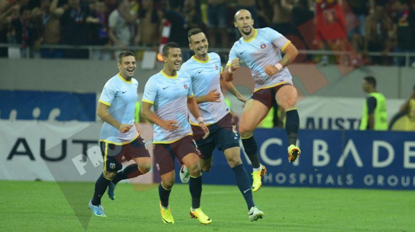 Salvat doar de final! Dinamo - Steaua 1-2. Steliştii au câştigat cu emoţii un meci pe care l-au controlat
