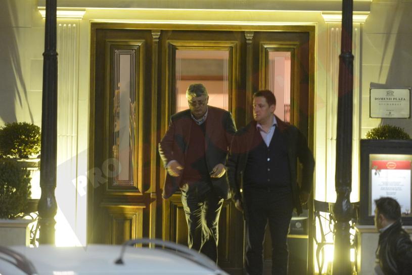 """BREAKING NEWS! FOTO: Ponta, Liviu Dragnea şi 10 oficiali ai cluburilor au fost la şedinţă. Gino Iorgulescu, la ieşirea din hotel: """"Să vedem dacă o să câştig, nu ştiu..."""""""