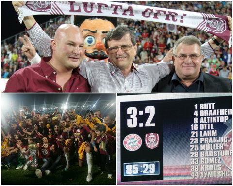 """""""Maşina de făcut bani"""" din Liga 1, salvată în ultima clipă. CFR Cluj a ajuns în pragul falimentului cu încasări de 80 de milioane de euro"""