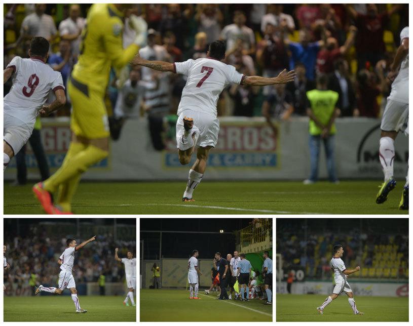 LIVE BLOG | Liga 1, etapa a 2-a | Campioana se impune fără probleme în faţa oltenilor: Steaua - CS U Craiova 3-1. Oţelul - Concordia 1-2, gazdele au jucat în opt jucători