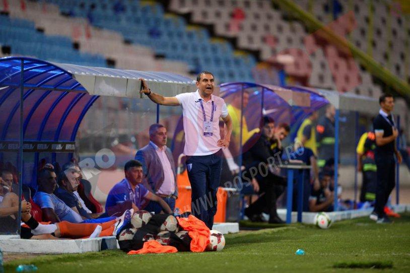 """Craiova pleacă dezamăgită din Ghencea. Gane: """"Arbitrajul a fost în favoarea Stelei. Cred că am avut gol valabil în minutul 10"""""""