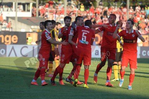 """Şi-a regăsit forma la Dinamo. Cordoş, după primul gol pentru roş-albi: """"Este cea mai fericită zi de când m-am apucat de fotbal"""""""